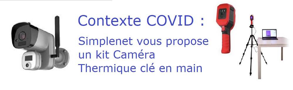 Cameras thermiques COVID